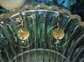 green glass hoops