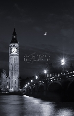 Big Ben With Moon Print