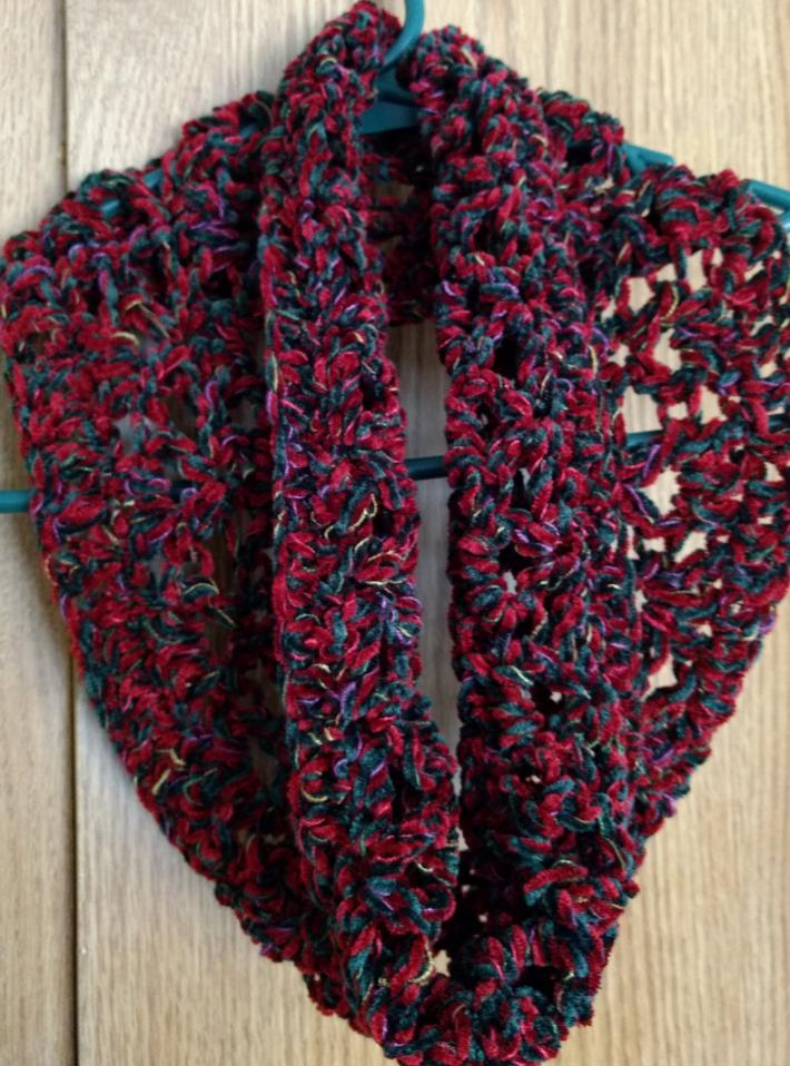 Red Holiday Scarf