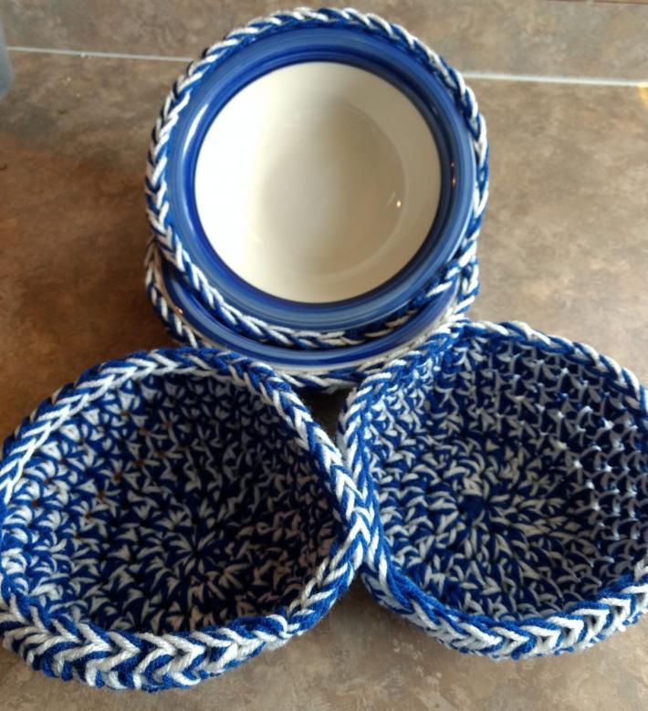 Crochet Bowl Holders
