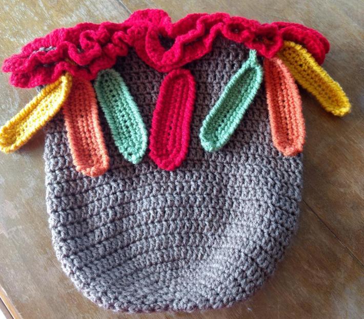 Turkey Snuggle Sack