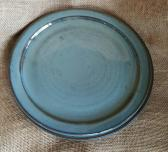 Set of 2 stoneware dinner plates