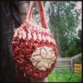 Your Heart on Your Sleeve Bag by Mandala Handmade