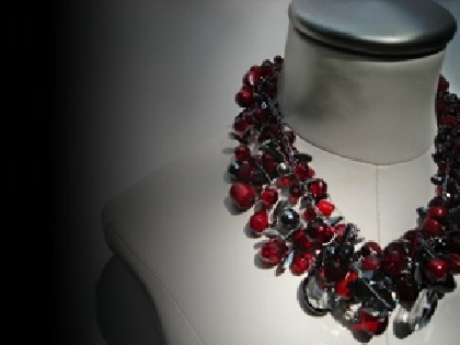CABERNET Statement Necklace