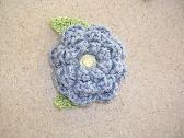 Large Crochet Flower Magnet