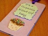 Cupcake Magnetic Bookmark Gift Tag