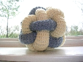 Crocheted Woven Ball  Toddler Toy 12B006