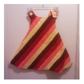 Pinafore Dress 2T or girls size 5-6 top
