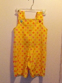 Overall shorts size 12mths