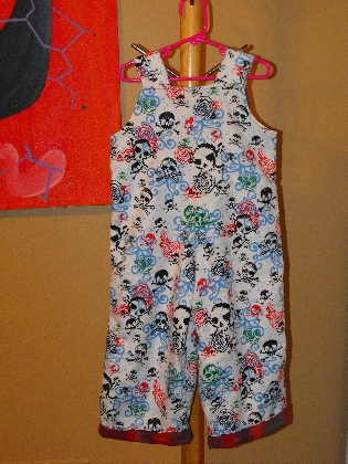 Overalls size 4T
