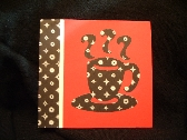 Steaming Hot Coffee Note Cards