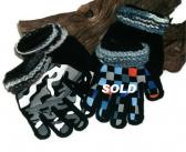 Boys and Toddler Boys Yarn Embellished Gloves and Mittens