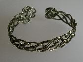 Metal Braided Bracelet