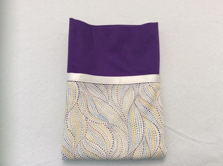 Purple Waves Pillowcase