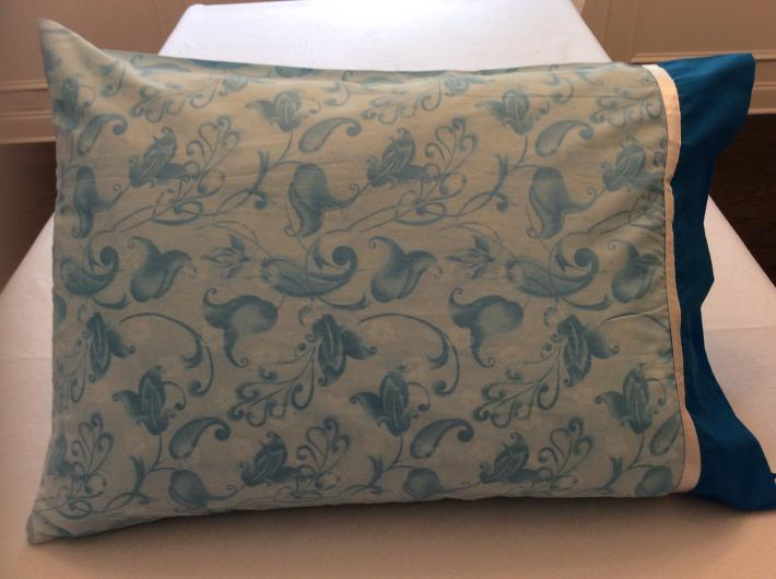 Blue Wildflowers Pillowcase