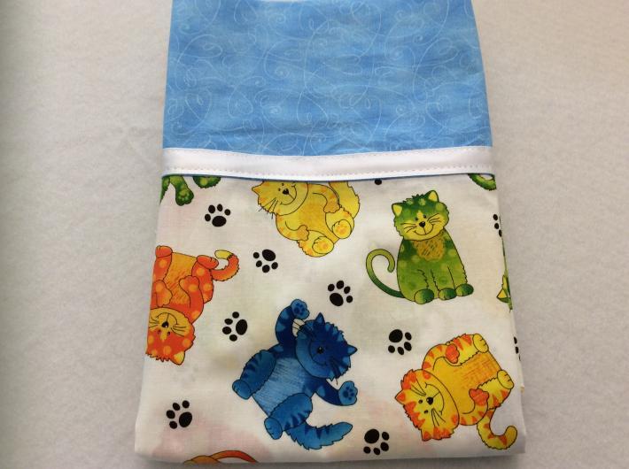 Colorful Kitties Pillowcase