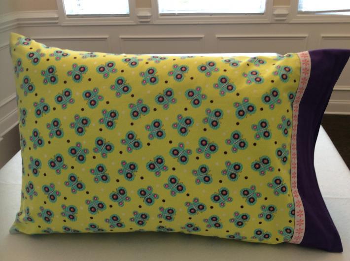 Fluttering Butterflies Pillowcase