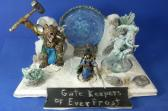 fantasy figure winter diorama