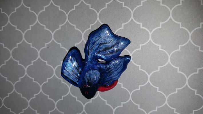 Polymer animal pins