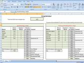 Pricing Worksheet  Calculates Wholesale and Retail Price