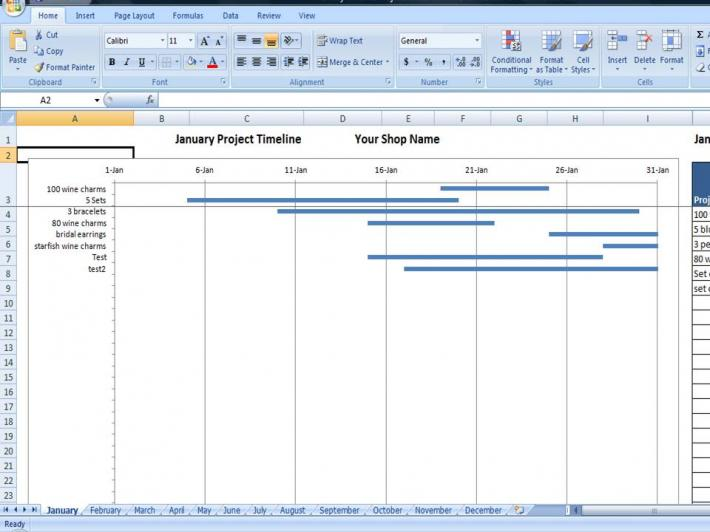 Project Tracking Program Custom Made Project Plan Template