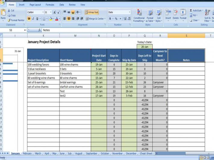 Project Tracking Program Custom Made Project Plan Template.