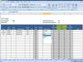 Sales Log Multi Venue Monthly Sales Organizer