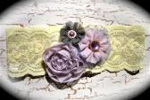 Lavender and Lilac Lace Bridal Garter 1 516
