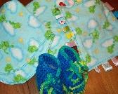 Baby Bundle with frog print
