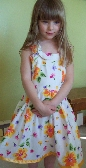 Beautiful Cotton Sun Dress