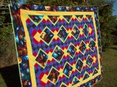 Northern Lights Quilt and Pillow