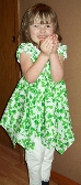 Child size 4 dress