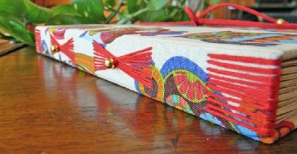 Handbound Journal Kaleidoscope Eyes