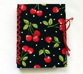 Mini Handbound Book Cherries