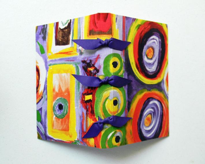 Hand Bound Book In the Abstract