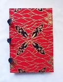 Hand Bound Book African Masks