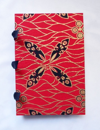Hand Bound Book African Masks