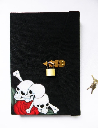 For Dave Skulls and Roses with Locking Slipcase