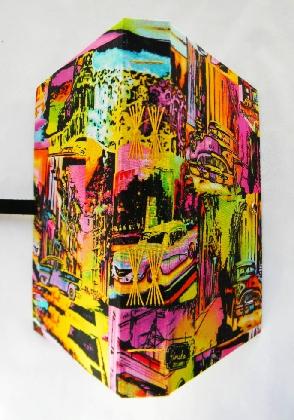 Hand Bound Book Bright Lights Big City