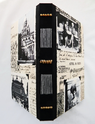 Hand Bound Book Destination Paris