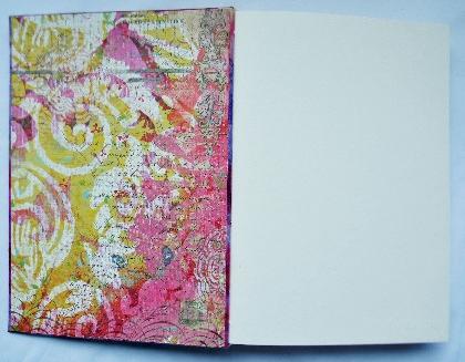 For Jess Custom Watercolor Art Book