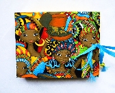 Small Hand Bound Book Ashanti Women II
