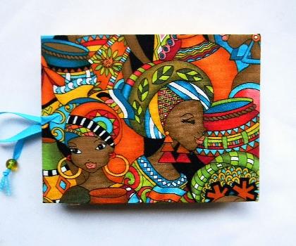 Small Hand Bound Book Ashanti Women II