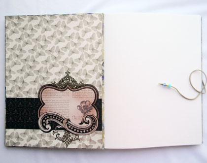 Large Handbound Book Cool Breeze