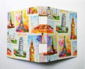 Large Handbound Art Journal Destination The World