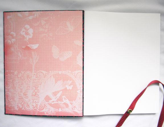 Large Handbound Sketchbook Once Upon a Vine