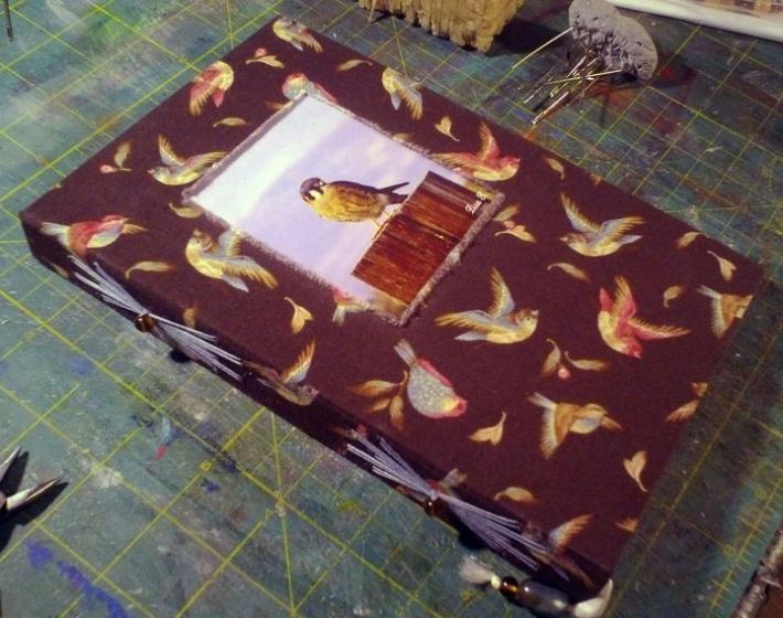 Custom Handmade Journal With Your Photo
