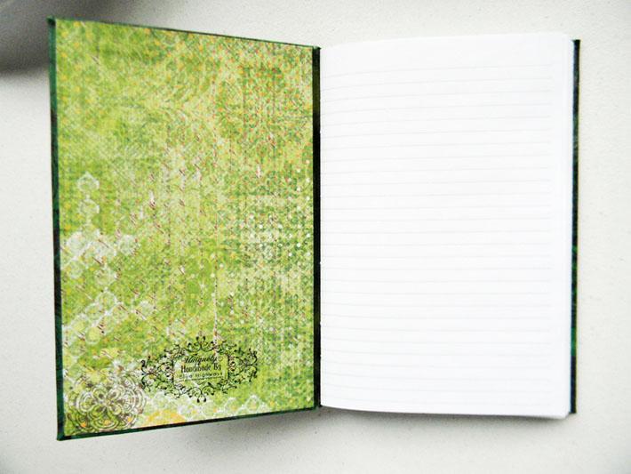Handbound Journal Custom Order For John