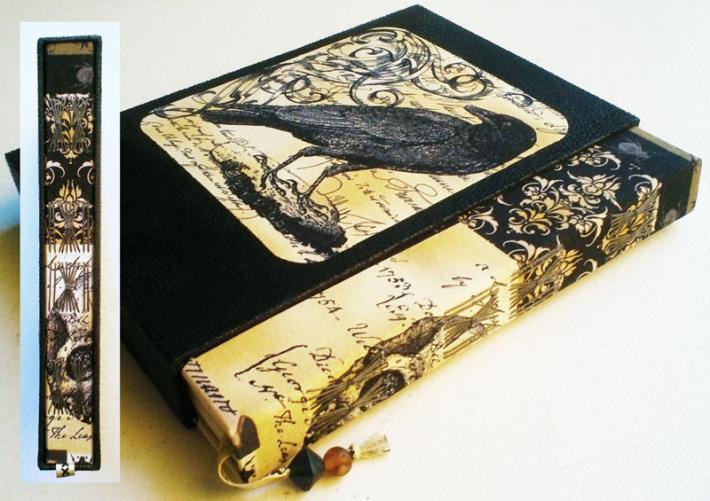 Handbound Book Darkest Illusion