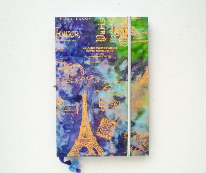 Handbound Journal They Go to Paris
